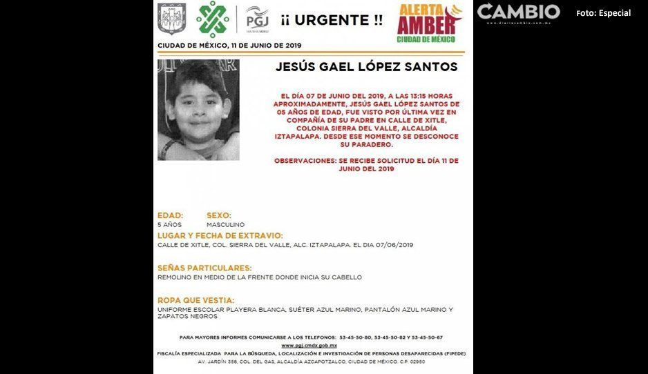 ¡ Ayúdanos a encontrar a Gael !