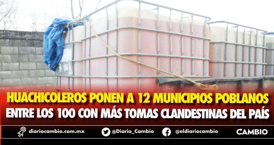 Huachicoleros ponen a 12 municipios poblanos entre los 100 con más tomas clandestinas del país