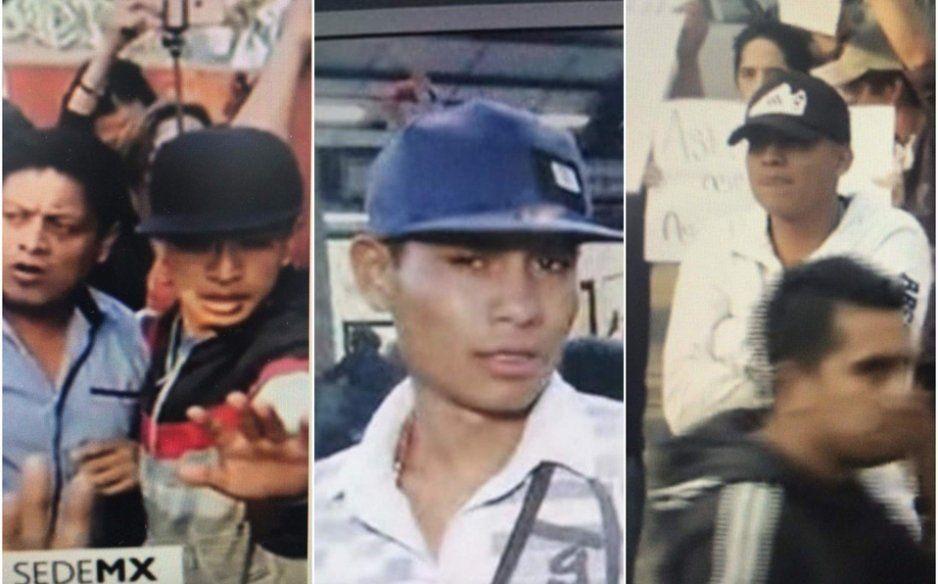 Exhiben rostro de Los Claudios, banda vinculada con ataque a reportero en marcha feminista