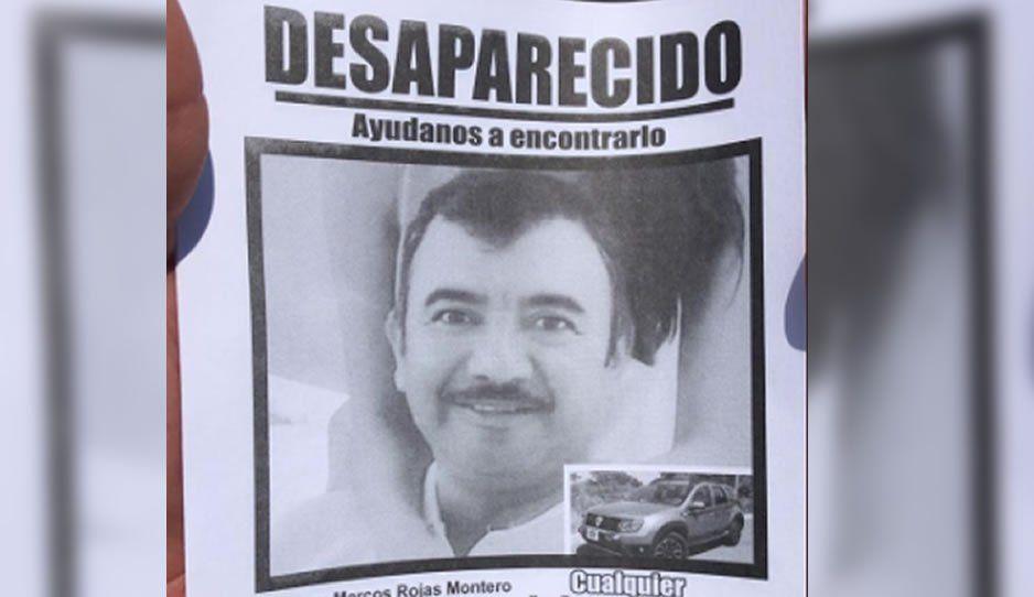 Familiares y amigos de Marcos Rojas se manifiestan afuera de Casa Aguayo para exigir su búsqueda y localización