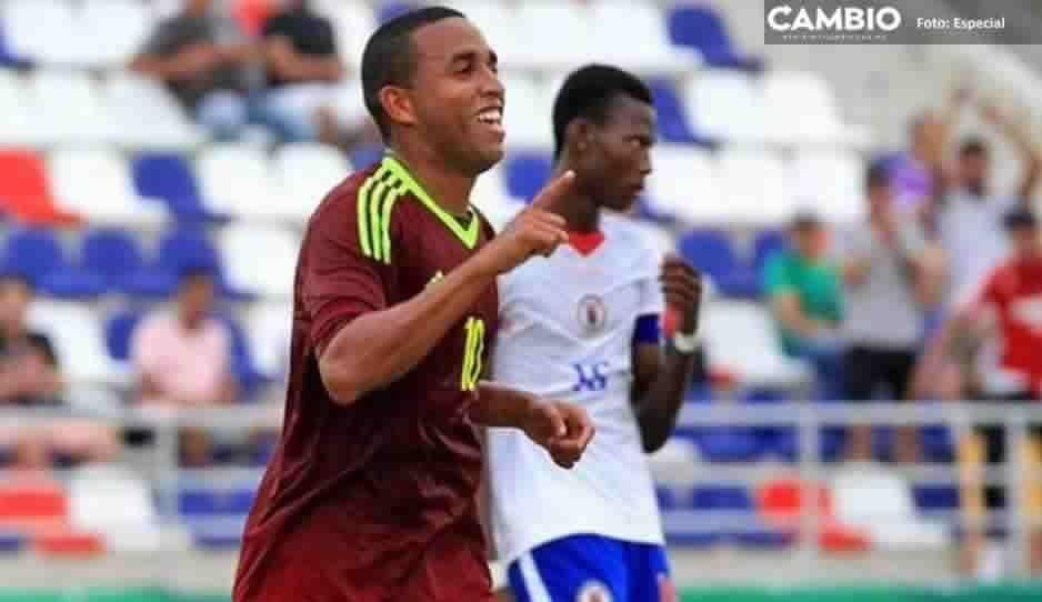 Yohandry Orozco nuevo jugador del Club Puebla del fútbol mexicano