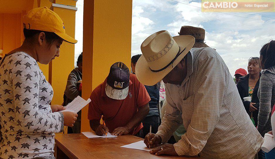 Protestan habitantes de Tepeteopan por alza al transporte, logran disminuir el pasaje en la ruta que va a su comunidad