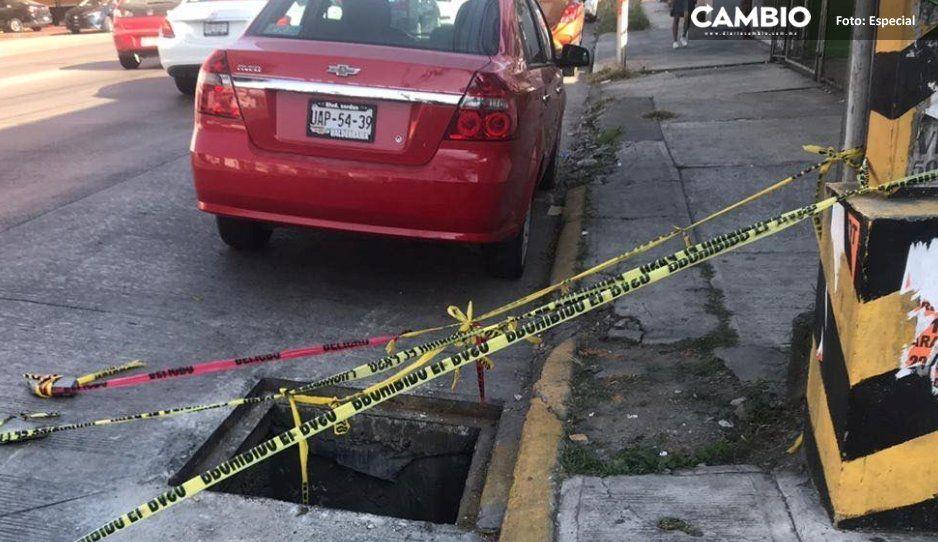 Cfe Y Agua De Puebla Ignoran El Hoyo Maldito De La 31 Que
