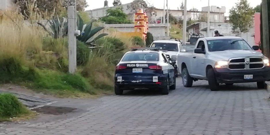 GN, Policía Estatal y Ministerial localizan almacén de vehículos robados en Serdán