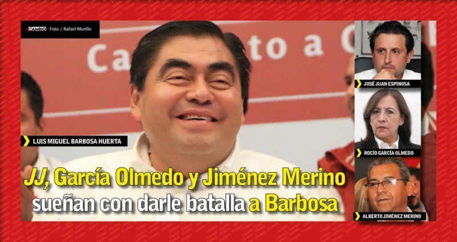 JJ, García Olmedo y Jiménez Merino sueñan con darle batalla a Barbosa
