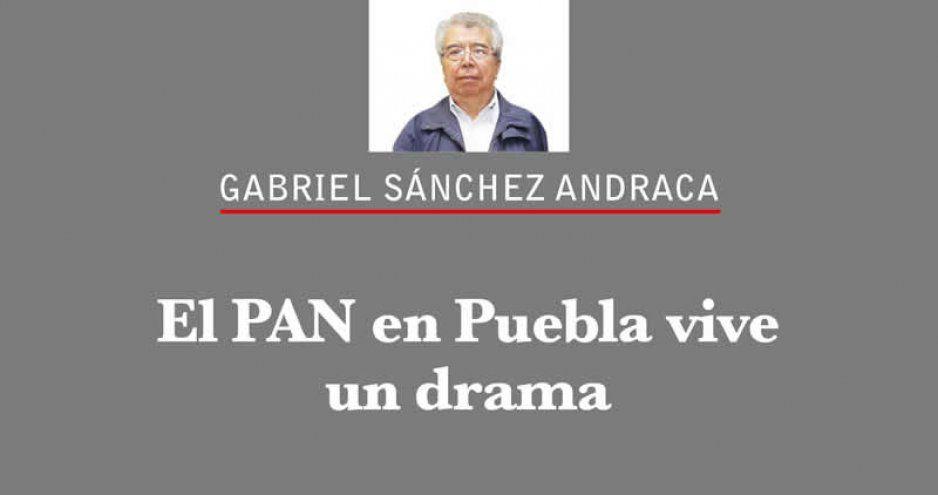 El PAN en Puebla vive un drama