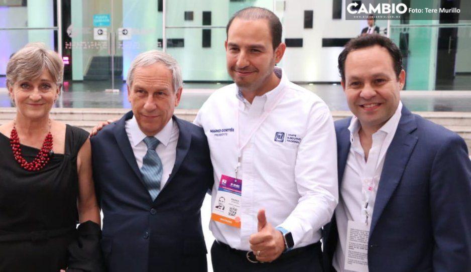 Marko se reúne con panistas previo al #DebatePuebla2019