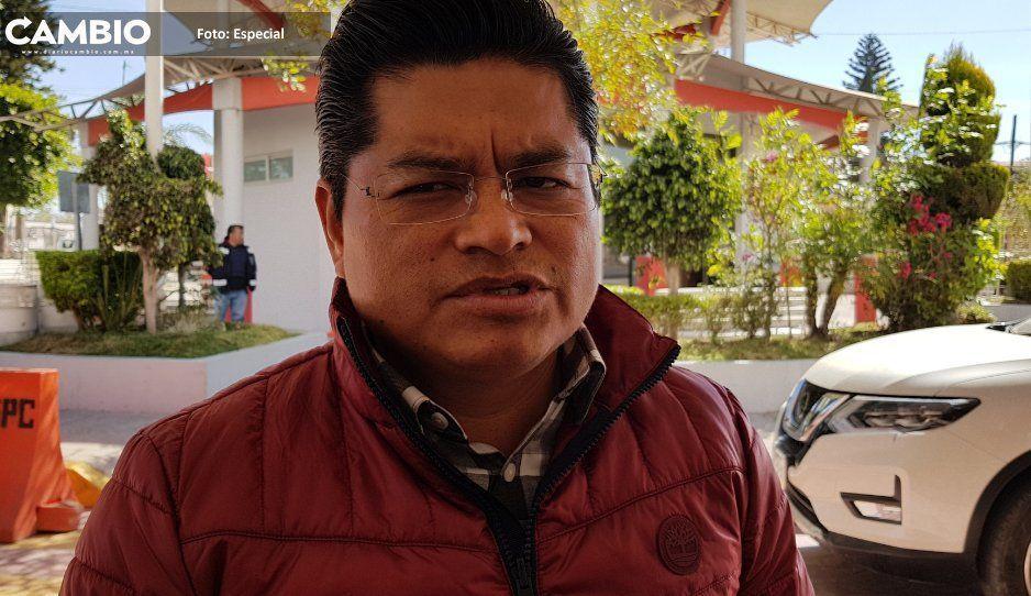 Edil de Coronango le recomienda a Barbosa no adelantar su candidatura