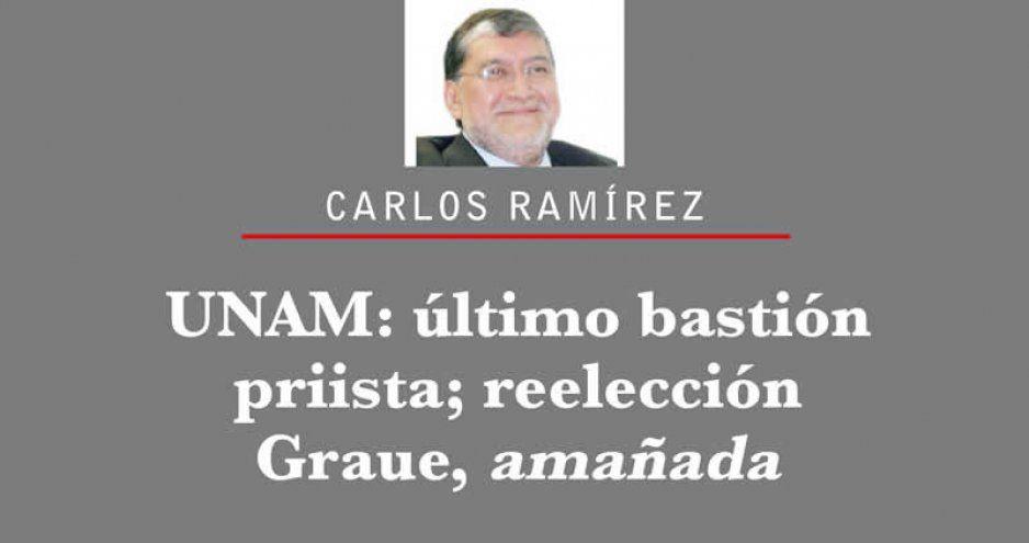 UNAM: último bastión priista; reelección Graue, amañada