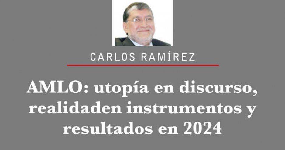 AMLO: utopía en discurso, realidad en instrumentos y resultados en 2024