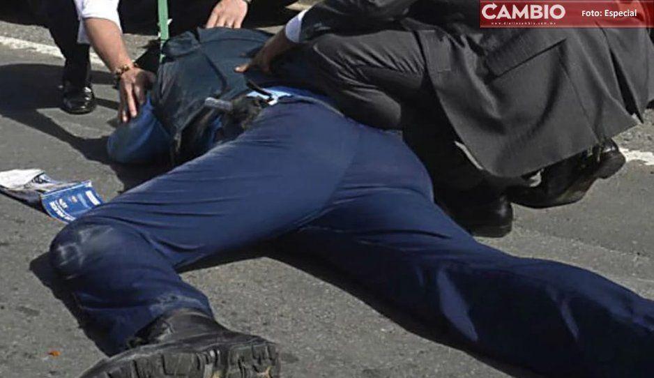 En persecución, balean a policía de Cuautlancingo