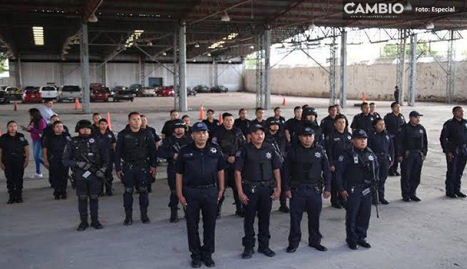 ¡Hasta que hacen su trabajo! policía municipales detienen a 4 ladrones en Atlixco