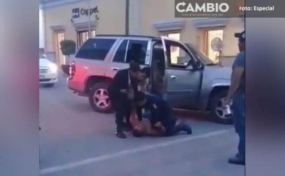 Exhiben en video la ineptitud de la Policia Municipal en Chiautla de Tapia (VIDEO)