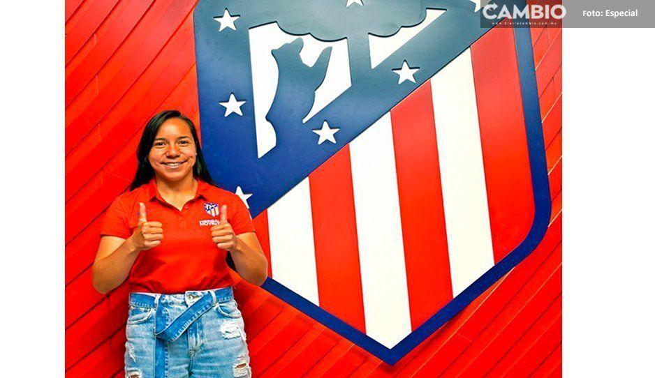 Mexicana Charlyn Corral: nueva delantera del Atlético de Madrid