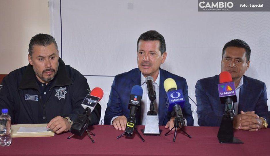 Registra San Pedro Cholula resultados positivos en seguridad pública: Luis Alberto Arriaga
