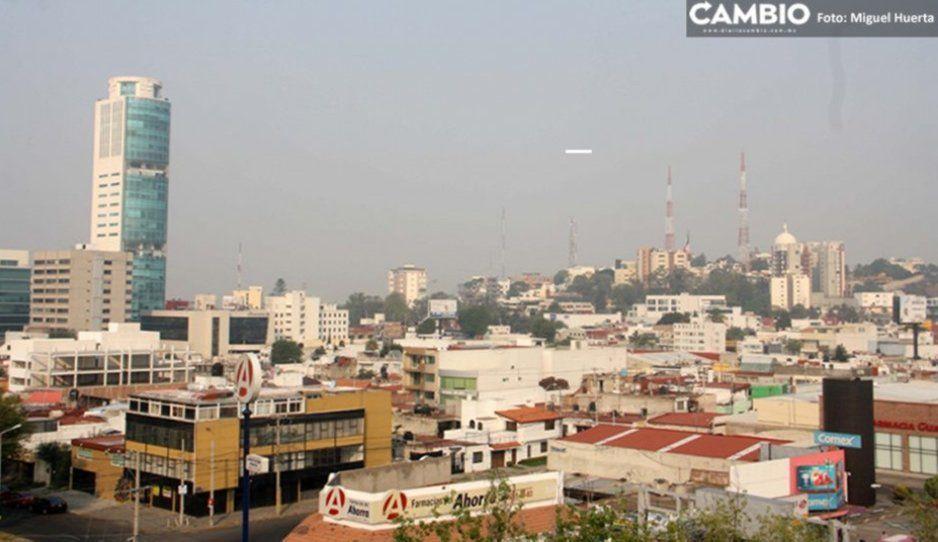 Disminuye el nivel de contaminación ambiental en Puebla tras las lluvias