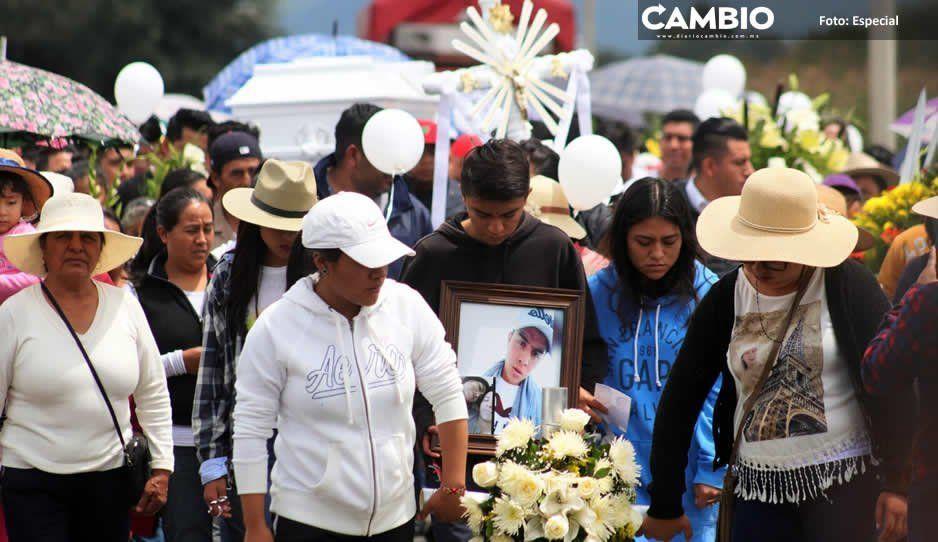 Sepultan en Nenetzintla a Chema, poblano ahogado en Xochimilco