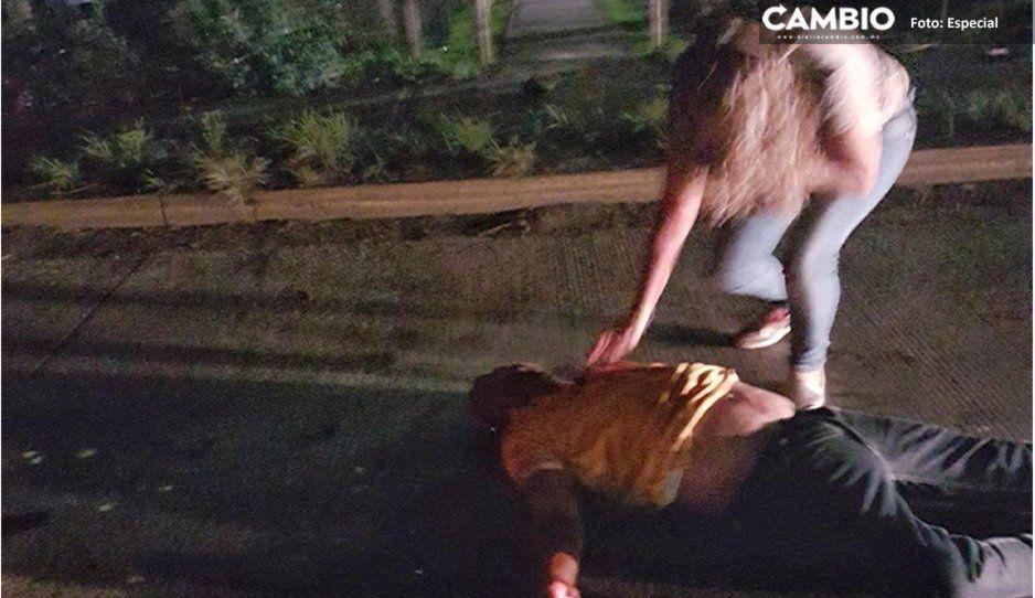 Balean a un hombre en la cabeza tras riña en bar de la federal a Tlaxcala; hay tres lesionados más