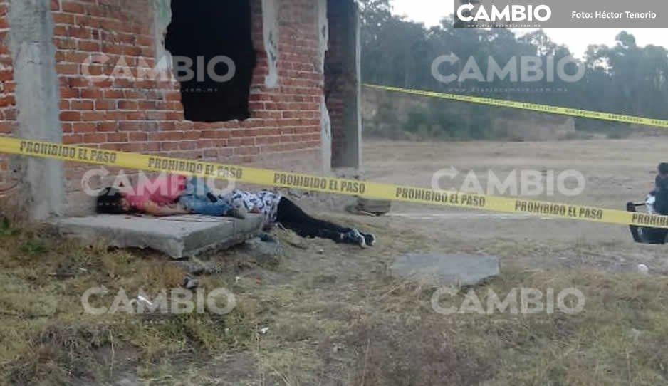 Dos hombres son ejecutados en Texmelucan