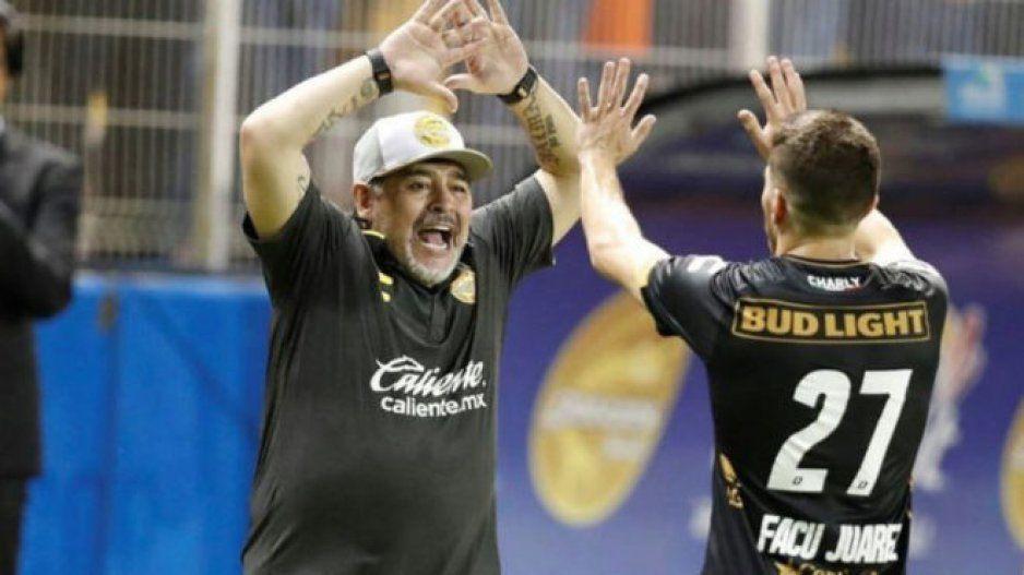 Dorados tiene mejor plantel que mi Argentina: Diego Armando Maradona