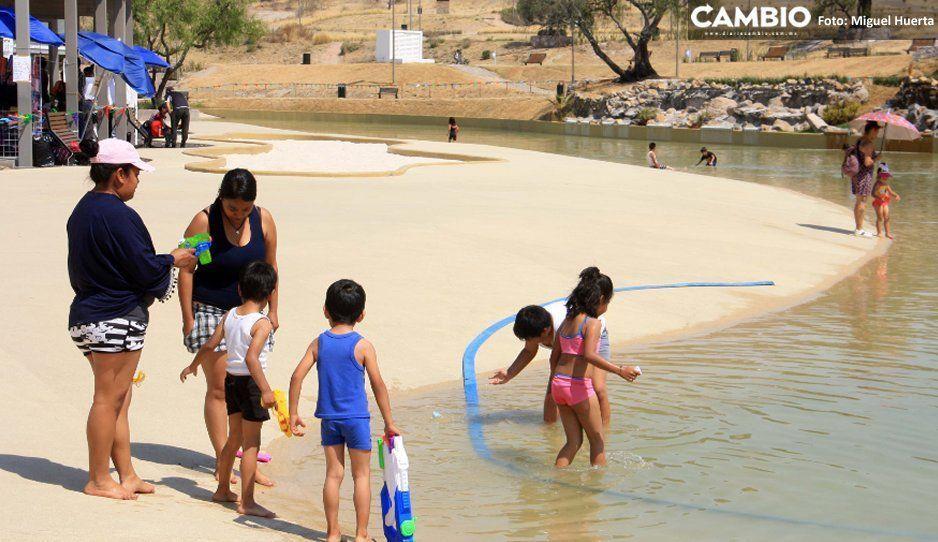 Amplían horario de Amalucan Beach: una hora y media más de chacoteo