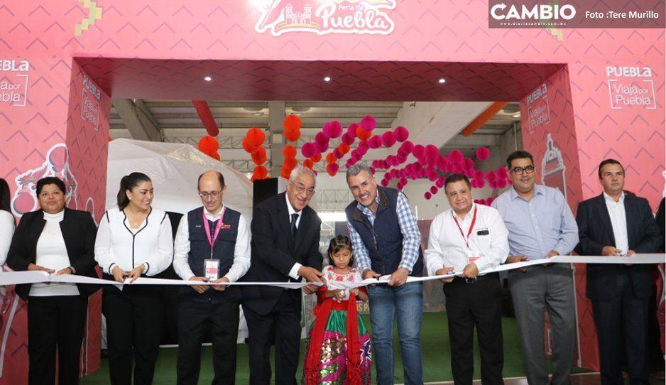 Guillermo Pacheco Pulido da inicio a la Feria de Puebla 2019