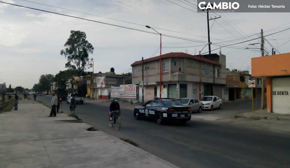 Policías Federal, Estatal y Ejército Mexicano vigilan Texmelucan, Huejotzingo y El Verde