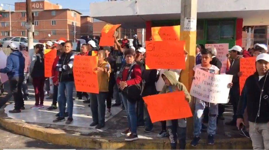 Arranca operativo en La Margarita para retiro de ambulantes