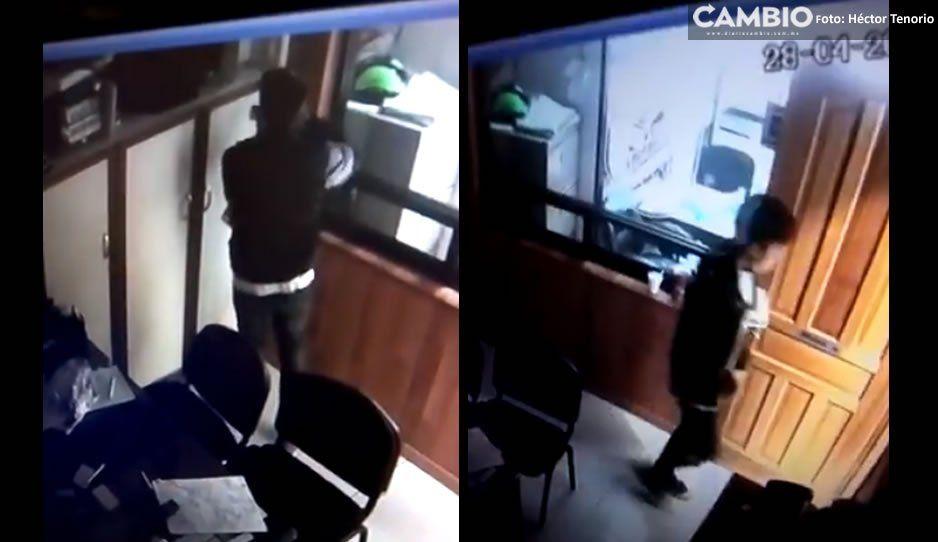 VIDEO: Identifican a ladrón de celulares en Atlixco y lo exhiben en redes