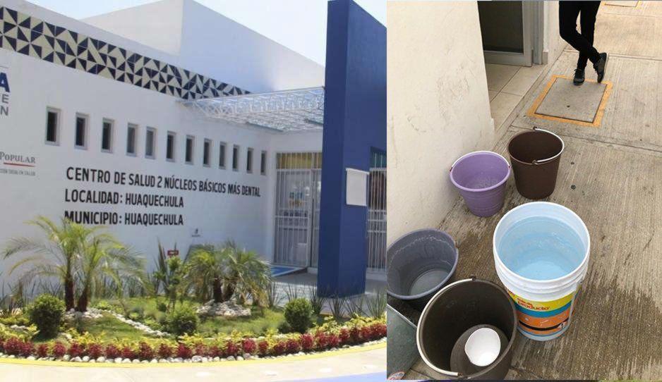 ¡Infectados en Huaquechula! Centro de Salud labora sin agua y ya lleva una semana