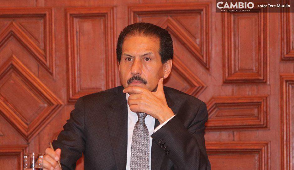 Torre de rectoría de la BUAP va al 50 %, Esparza prometió que estaría en octubre