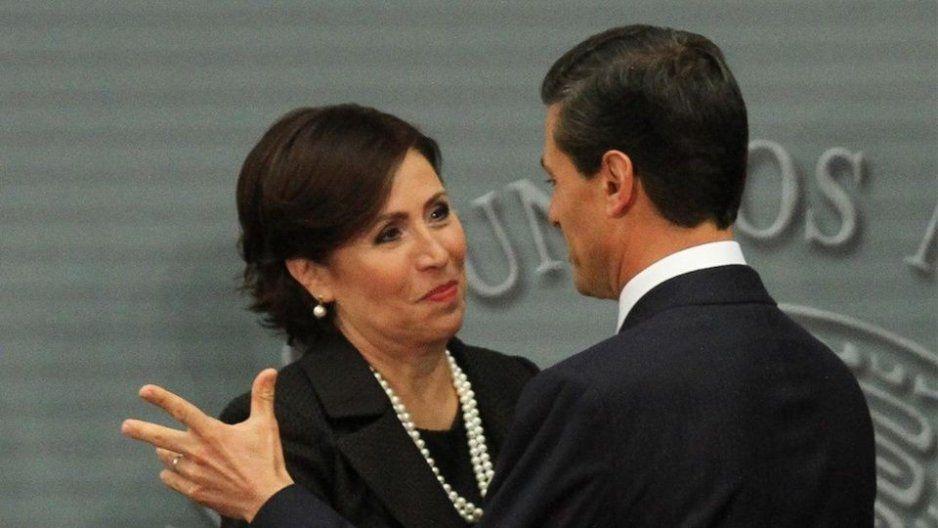 Peña Nieto y Meade sabían de Estafa Maestra: Rosario Robles