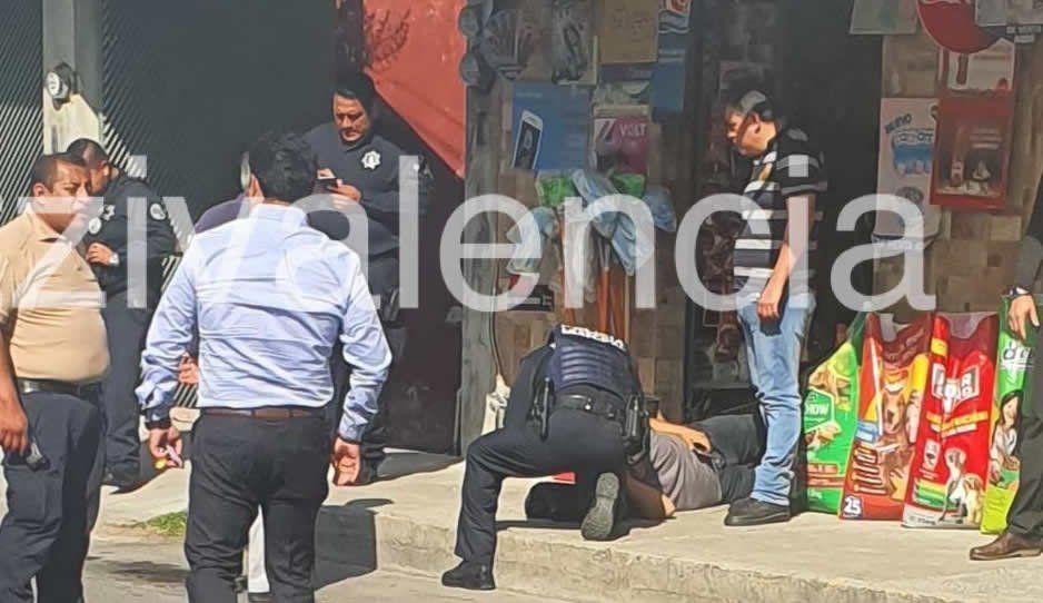 Balean a cuentahabiente y le roban 50 mil pesos en la Recta a Cholula