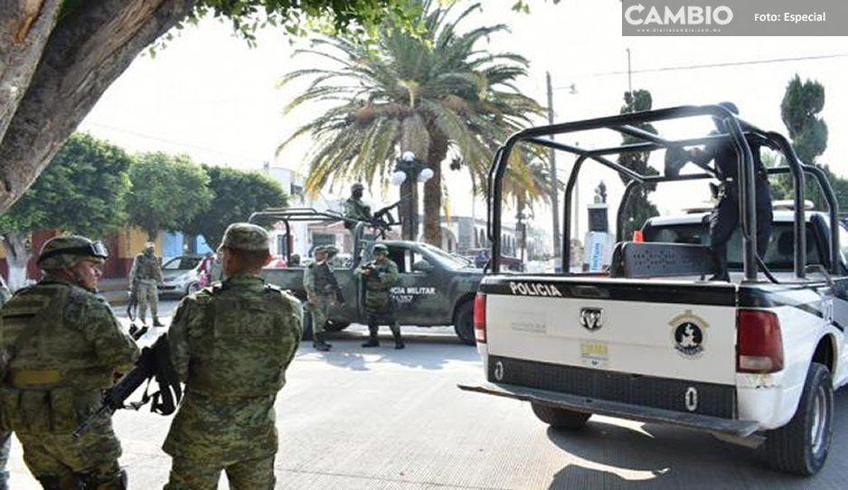 Llega Guardia Nacional y Ejército Mexicano a Tochtepec, van contra la delincuencia