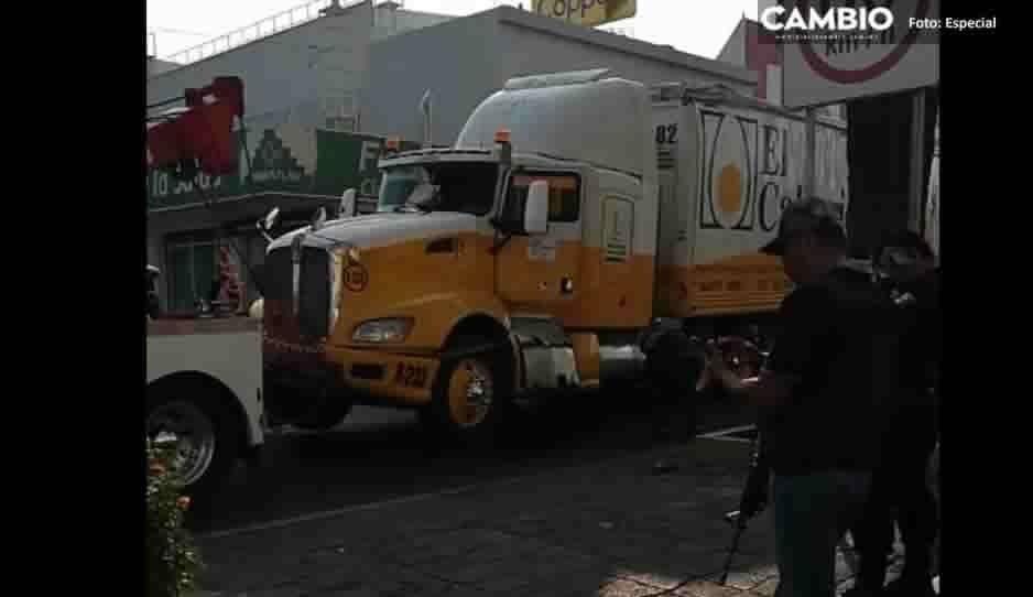 Fallidaestrategia de Seguridad: confunden a chófer con ladrón y provocan balacera en Tecamachalco