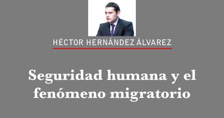 Seguridad humana y el fenómeno migratorio