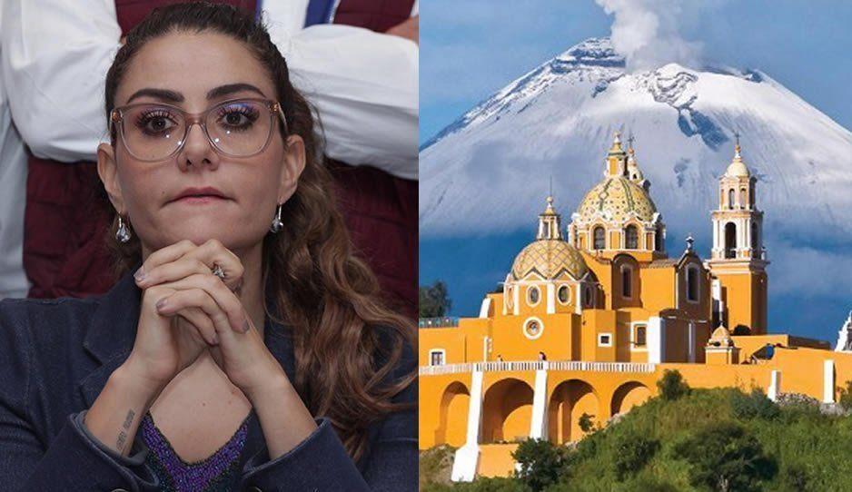 Nay Salvatori propone que la Pirámide y Santuario de Cholula sean Patrimonio de la humanidad