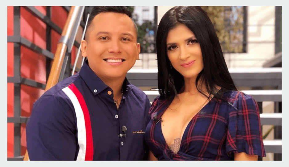 Kimberly Flores es cuestionada por infidelidad a Edwin Luna (VIDEO)