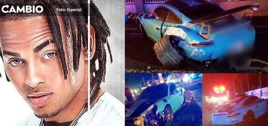 Ozuna impacta su Porsche de 2 millones de pesos contra una señora (FOTOS)