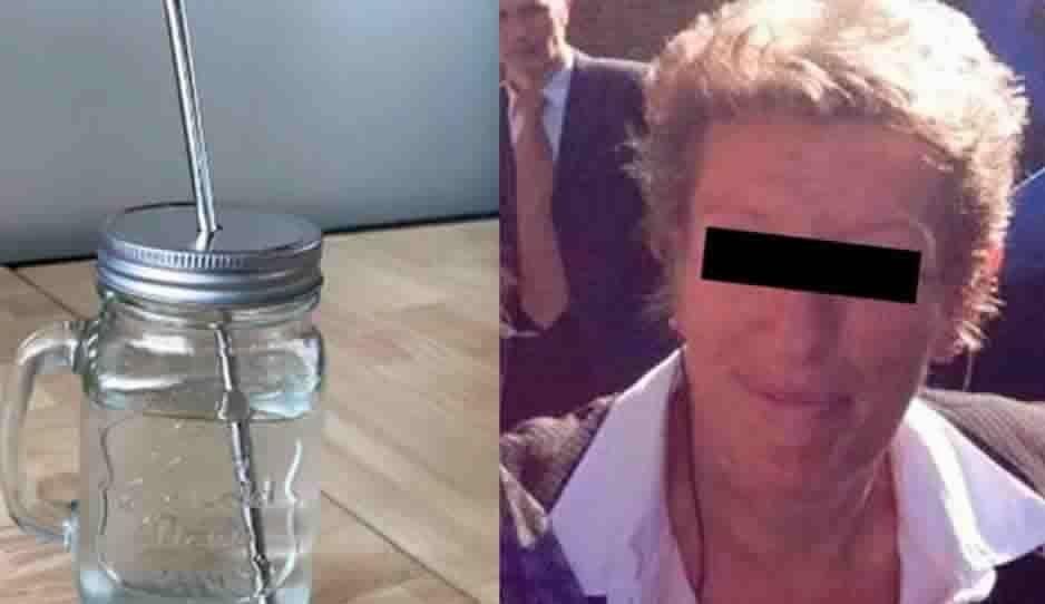 Mujer muere tras clavarse un popote en el ojo