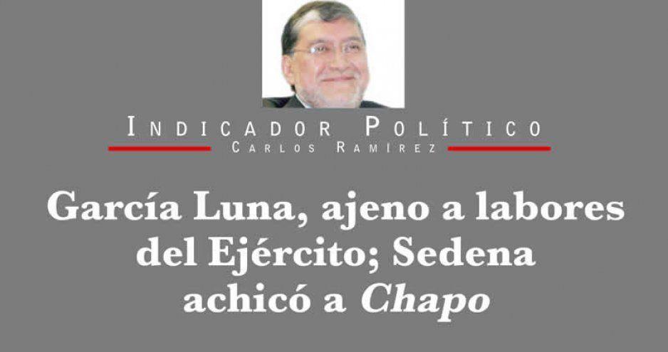 García Luna, ajeno a labores del Ejército; Sedena achicó a Chapo