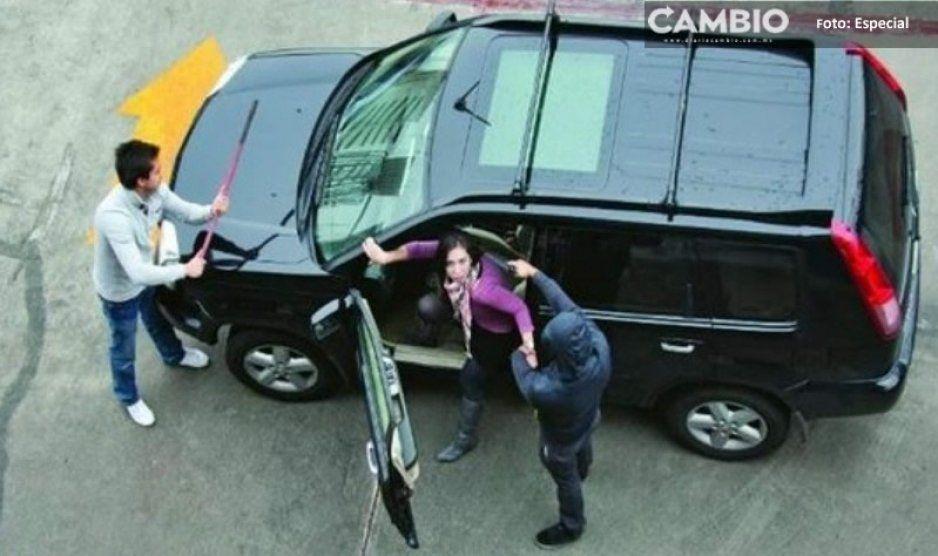 ¡Qué horror! Aumenta robo con violencia de automóviles en Puebla