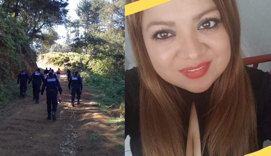 Angie sigue perdida en cerro de Chignautla; sólo hallan cuerpo de Iván