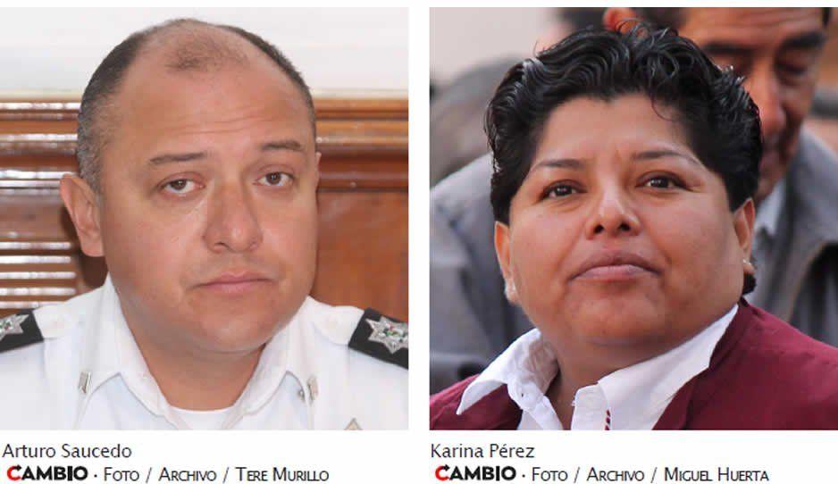 Karina Pérez corta primera cabeza en San Andrés: despide a comisario