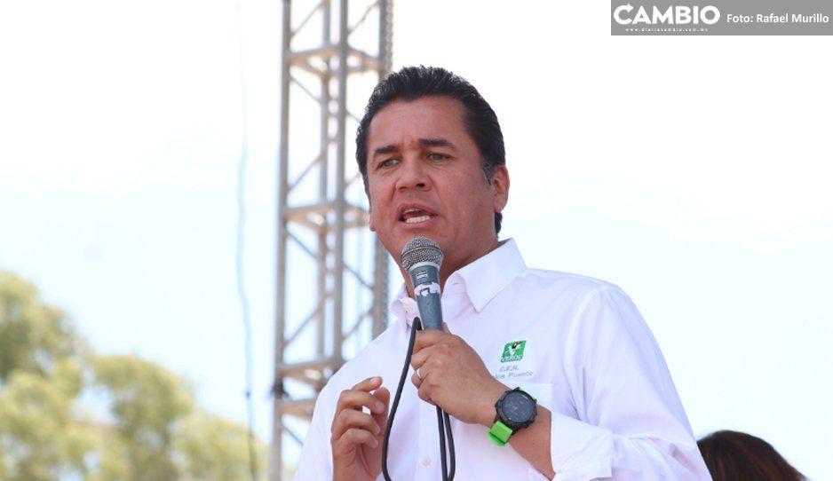 Barbosa engrandecerá a Puebla, subraya el líder nacional del Verde
