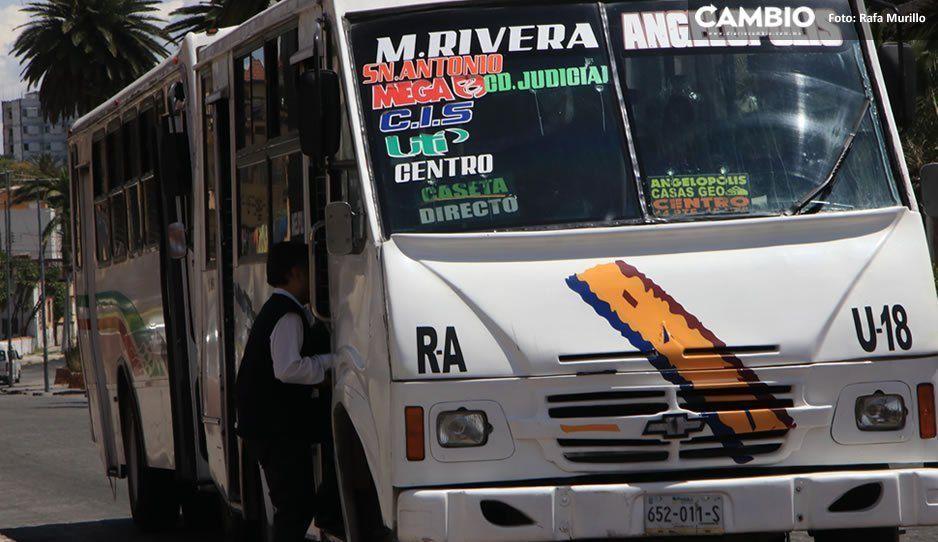 Robo a transeúnte y en el transporte público, las denuncias que más realizan los poblanos