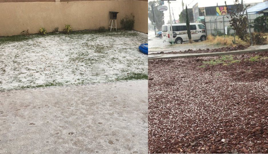 ¡Tremenda granizada paraliza Puebla! (FOTOS y VIDEO)