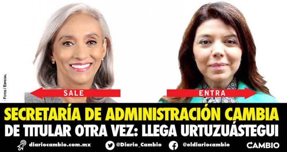 Otro cambio en la Secretaría de Administración: sale Lugo y llega Urtuzuástegui Carrillo