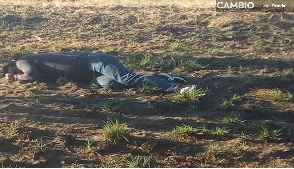 Otro ejecutado en Texmelucan, estaba reportado como desaparecido