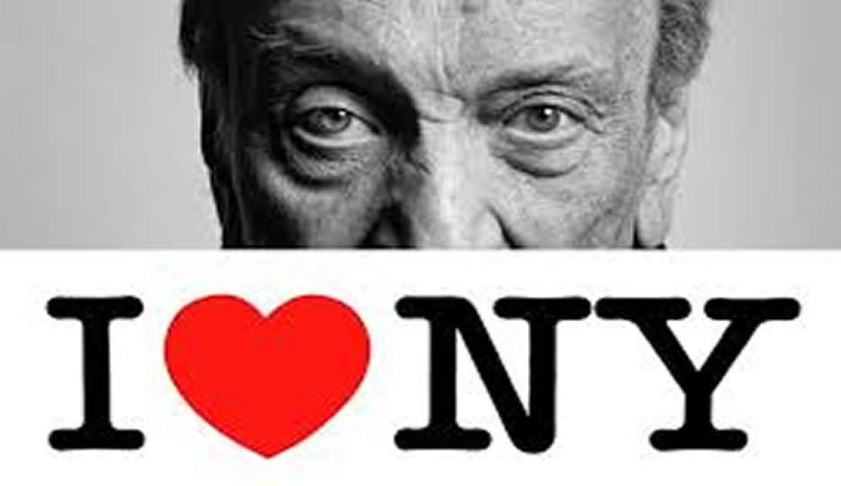 "Muere el creador del logo ""I love NY"", Milton Glaser"